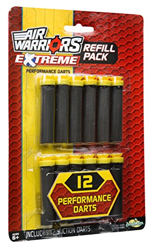Buzz Bee Toys Air Warriors 12 Extreme Suction Dart - Toys Buzz Bee