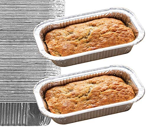 35 Pack Aluminum Meatloaf Disposable product image