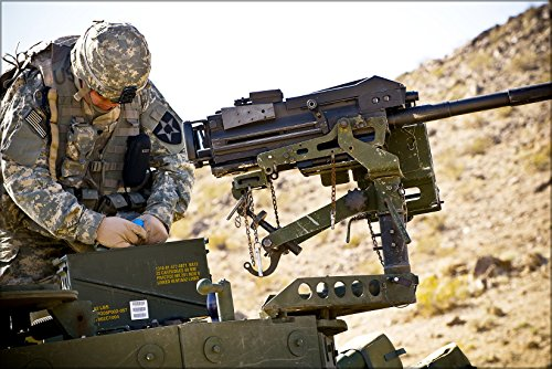 42x63 Poster; Mk19 (Automatic 40Mm Grenade Launcher Machinegun) With - Grenade 40mm Launcher