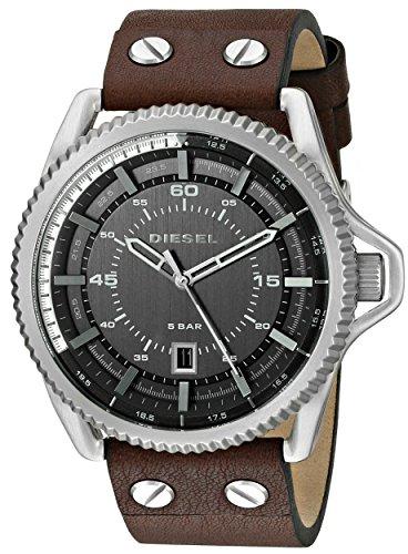 diesel-mens-dz1716-rollcage-stainless-steel-brown-leather-watch