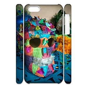 C-Y-F-CASE DIY Color Skull Pattern Phone Case For iPhone 5C