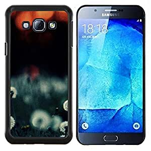 Cubierta protectora del caso de Shell Plástico || Samsung Galaxy A8 ( A8000 ) || Planta Naturaleza Forrest Flor 108 @XPTECH