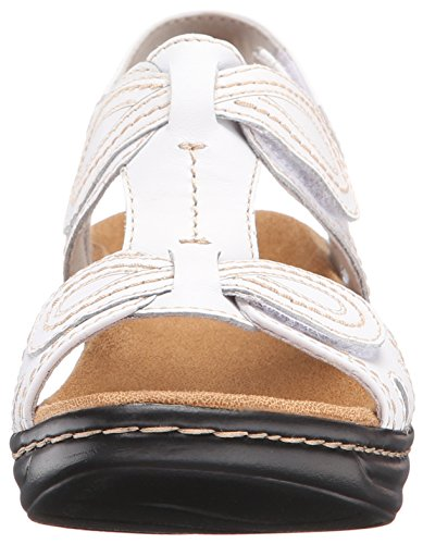 Lexi Clarks White Sandals Waknut Q Women's UUnwxfqar5