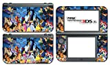 Princess Friends Ariel Snow White Belle Bambi Video Game Vinyl Decal Skin Sticker Cover for the New Nintendo 3DS XL LL 2015 System Console