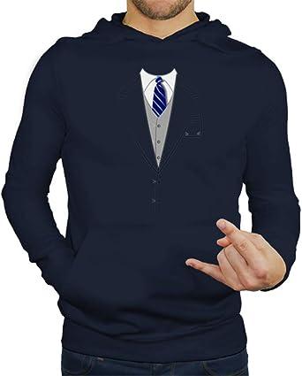 latostadora - Jersey Traje Corbata Azul para Hombre: Amazon.es ...