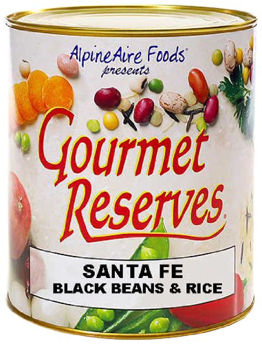 AlpineAire Foods Gourmet Reserves Sante Fe Black Beans and Rice (Net WT. 39 OZ)