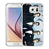 Vicente New Kids On The Block White Phone Case For Samsung Galaxy S6,Beautiful Case