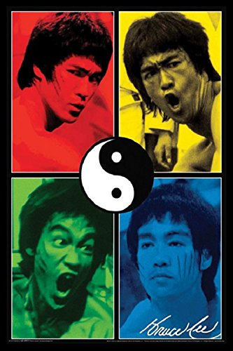 Bruce Lee - Faces 24x36 Poster