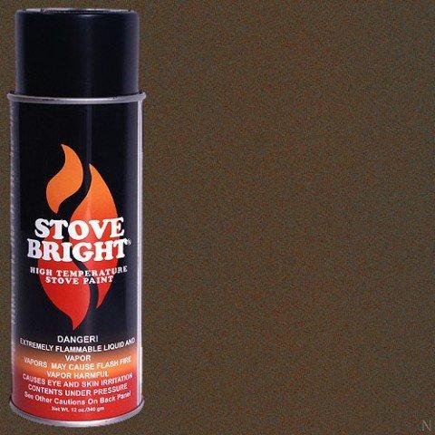 Stove Bright TI-8101 High Temperature Paint, 1200 Degree F Operating Temperature Range, 12 oz Aerosol, Metallic Mahogany by SANDHILL