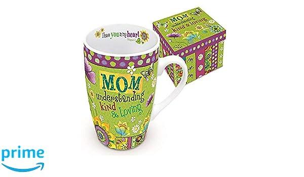 Divinity Boutique 24662 Heart N Hugs Mom Boxed Mug