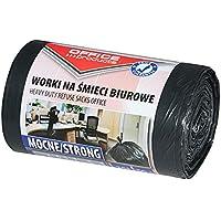 Kontorsprodukter 22021213-05 soppåsar 35 l – 50 stycken starka LDPE| sopsäckar sopsäck sopsäck sopsäck för…
