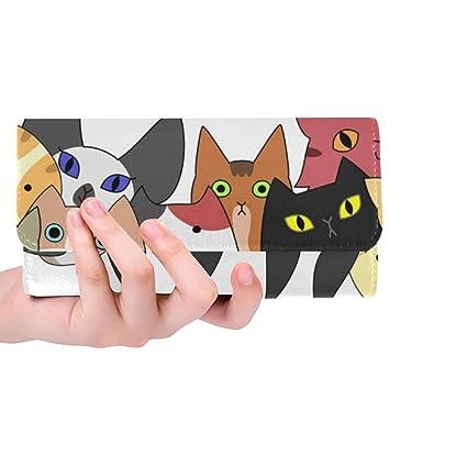 Único Personalizado Perros Lindos Gatos Tarjeta Mujer ...