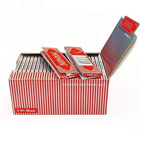 Amazon.com: 50 Librillos Luna Paquete de 1 1/4 Papel De Liar ...