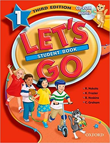 Lets Go 1 Student Book With Cd-rom