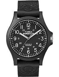Timex Men's TW4B08100GP Sport Expedition Black Dial with Black Nylon Strap