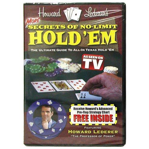 - Trademark Poker More Secrets of No Limit Hold'Em DVD with Howard Lederer, Multi-Color