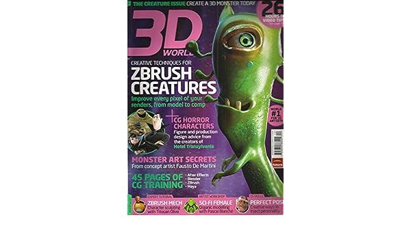 Amazon.com : 3D WORLD, DECEMBER, 2012 (THE CREATURE ISSUE ...