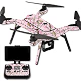 MightySkins Protective Vinyl Skin Decal for 3DR Solo Drone Quadcopter wrap cover sticker skins TrueTimberConceal Pink