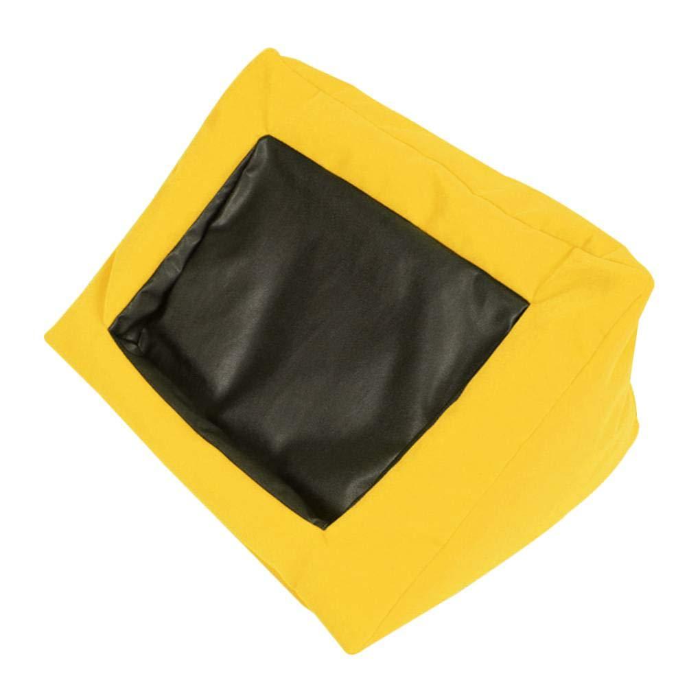 Royalr Multifuncional Rubí Velvet Cubierta de Tela de la Espuma de partículas de Relleno del Soporte de la Almohadilla para el iPad Aire / 4/3/2/1