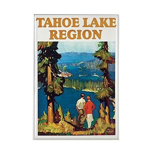 CafePress - Lake Tahoe - Rectangle Magnet, 2