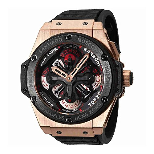 Hublot Big Bang Men's Chrono Auto Rose Gold - 771.OM.1170.RX
