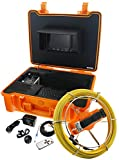 Tools & Hardware : Steel Dragon Tools Model 915CD Pipe Inspection Camera with DVR and 130 FT Cable
