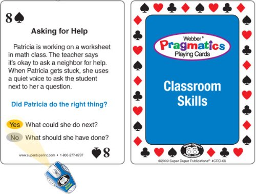 Amazon.com: Webber Pragmatics Playing Cards with Secret Decoder ...
