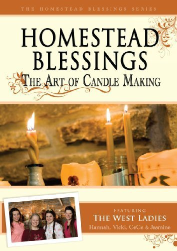 Homestead Blessings: The Art of Candle Making by Franklin Springs – Nest Learning