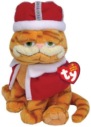 Ty HIS MAJESTY the King Garfield by Ty