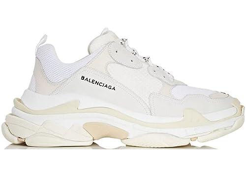 BestVIPP Unisex Balenciaga Sneakers Balenciaga Triple S Sneakers White Hombre Mujer Zapatillas: Amazon.es: Zapatos y complementos