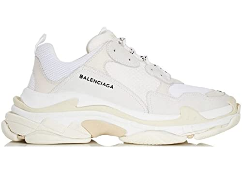 b103c6881a BestVIPL Balenciaga Triple S Sneakers White Unisex Uomo Donna Balenciaga  Scarpe da Ginnastica: Amazon.it: Scarpe e borse