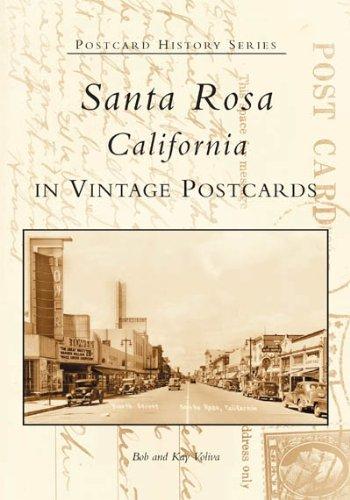 Santa Rosa  (CA)  (Postcard History - Stores Santa Rosa