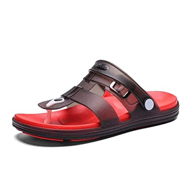 Sandals for Men Non-Slip Flip Flops Sandals Flat Beach Slippers Students Sandals