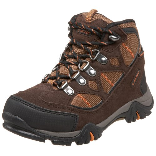 Hi-Tec Renegade Trail Hiking Boot ,Dark Chocolate/Burnt Oran