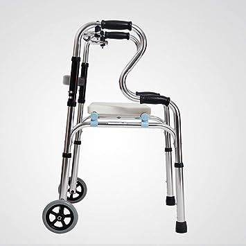 XIHAA - Andador para personas mayores, altura ajustable, aleación ...