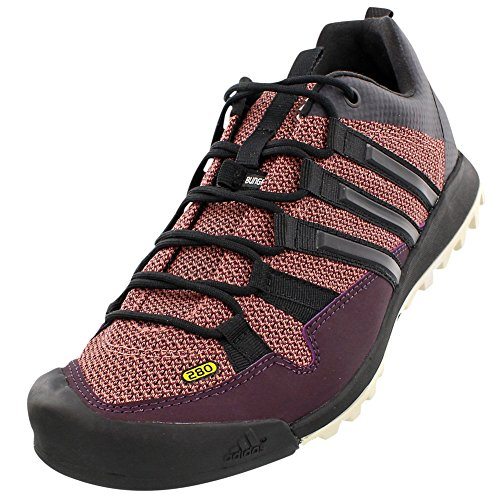 adidas Outdoor Terrex Solo Approach Shoe - Women's Mineral Red/Black/Raw Pink 9 by adidas