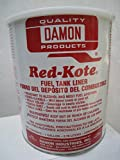 Damon Industries Fuel Tank Liner Coat Sealer Gas Alcohol Diesel (1) Gallon Motorcycle Redkote