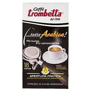 Caffè Trombetta, Caffè in Cialda ESE, Tutto Arabica - 6 Confezioni da 18 Cialde (Totale 108 Cialde)