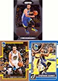 #3: Stephen (Steph) Curry Lot of 3 Golden State Warriors Basketball Cards