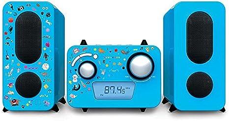 Diseño estéreo CD FM Equipos de Música Joven Radio altavoz ...