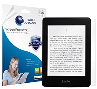Tech Armor Kindle Paperwhite/Original Paperwhite High Defintion (HD) Clear Screen Protectors - Maximum Clarity and Touchscreen Accuracy [3-Pack] Lifetime Warranty (B00B394K8K) | Amazon price tracker / tracking, Amazon price history charts, Amazon price watches, Amazon price drop alerts