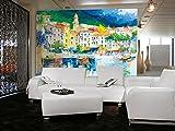 Ideal Decor Riviera Ligure Wall Mural