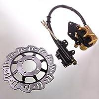 Wotefusi Brand New Rear Brake System Brake Disc Rotor...