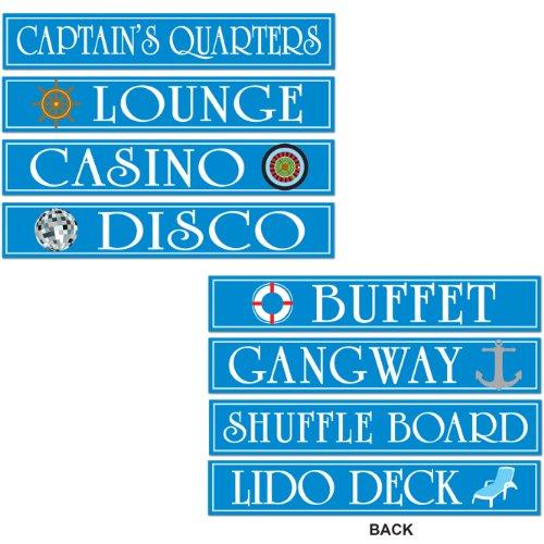 Cruise Ship Sign Cutouts Pkg