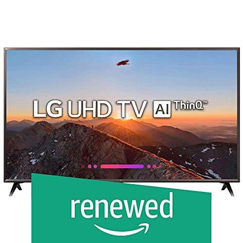 (Renewed) LG 164 cm (65 Inches) 4K UHD LED Smart TV 65UK6360PTE (Black) (2018 Model)
