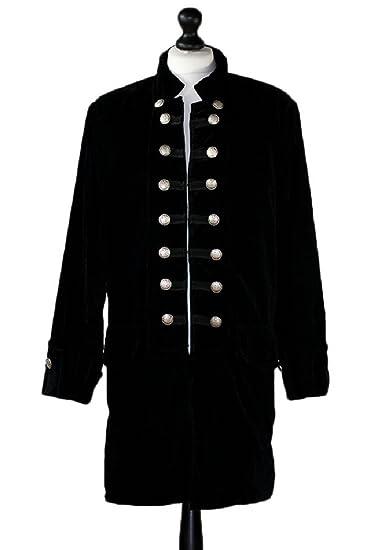 Amazon Gothic Master Mens Velvet Frock Coat Clothing