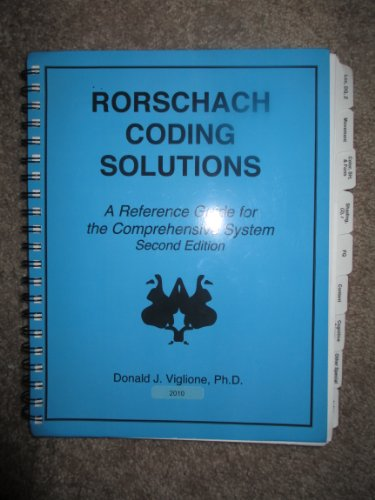 Rorschach Coding Solutions: A Reference Guide for the Comprehensive System