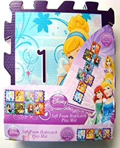 Amazon Com Disney Princess Hopscotch Soft Foam W Markers