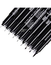 Japón pincel aceite punta fina boceto trazador de líneas pluma de dibujo pluma dibujada a mano modelo de animación pincel suave comics DP012, pincel sofr negro