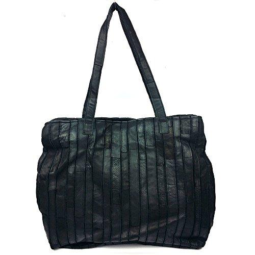 Bolsa de Dama elegante cuero LongBao _2017 otoño e invierno, haga clic en bolsa de hombro elegante cuero negro ,9229 paquete máximo mayorista Negro 9229